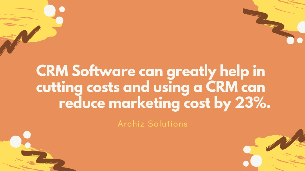 6 out of 10 Small Business are using a CRM System for Email Marketing. (1)