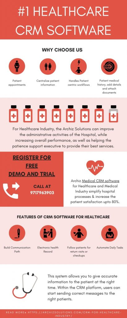 Medical CRM software